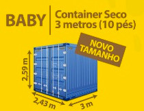 Baby Container Seco 3 metros